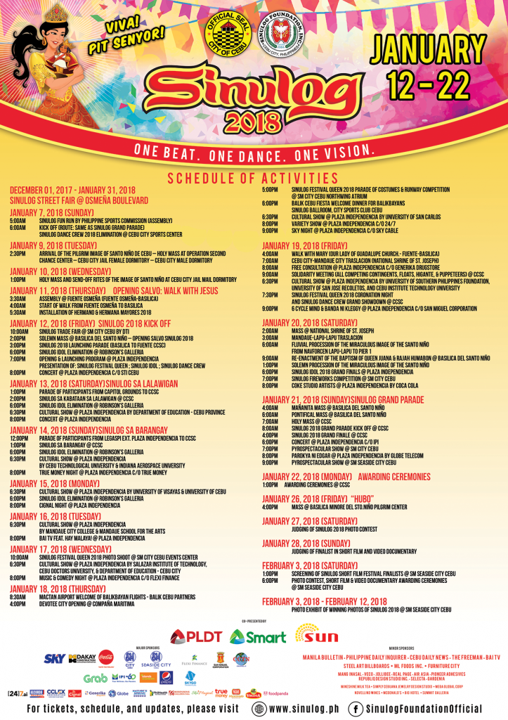 Sinulog-2018-Schedule-of-Activities